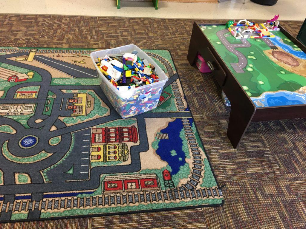 Legos & Trains